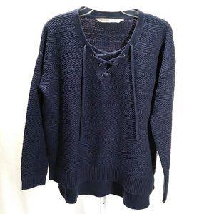 Athleta Sunset Sweater Navy Blue | S